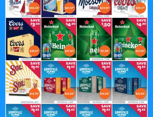 March 2021 Liquor Store Specials