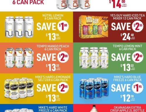 May 2021 Liquor Store Specials