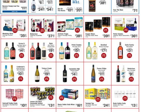 April 2021 Liquor Store Specials