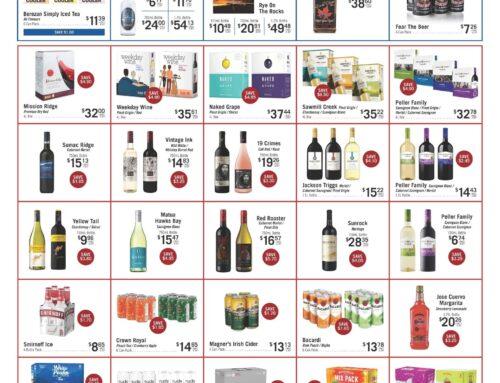 July 2021 Liquor Store Specials