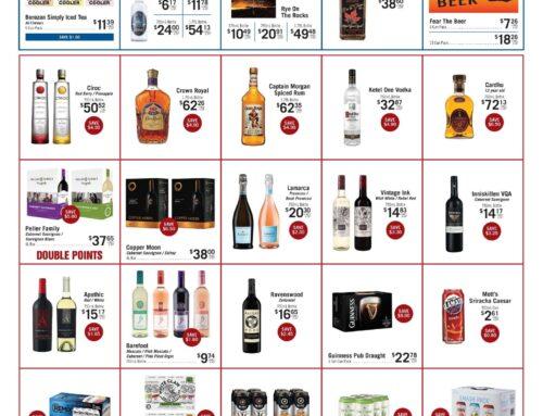 September 2021 Liquor Store Specials