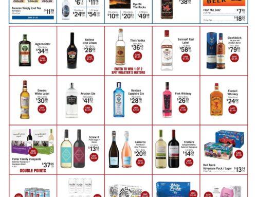 October Liquor Store Specials